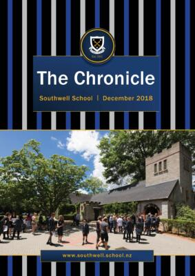 Southwell School The Chronicle December 2018 Cover
