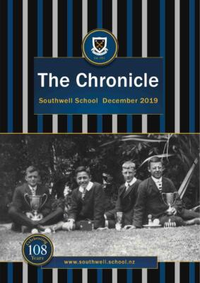 Southwell School The Chronicle December 2019 Cover