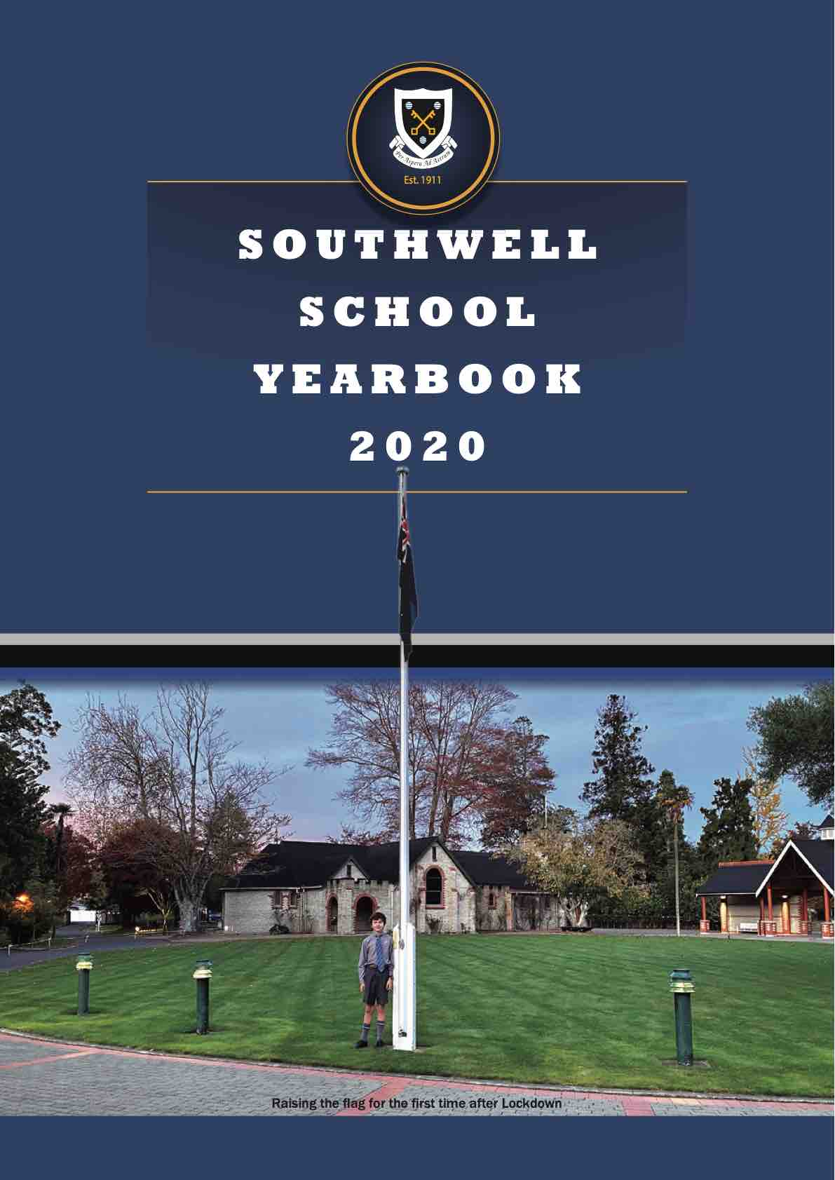 Southwell School - School Year Book 2020 cover